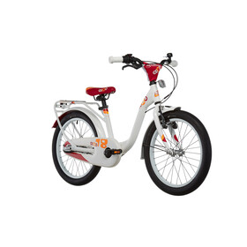 s'cool niXe 18 3-S Childrens Bike alloy white